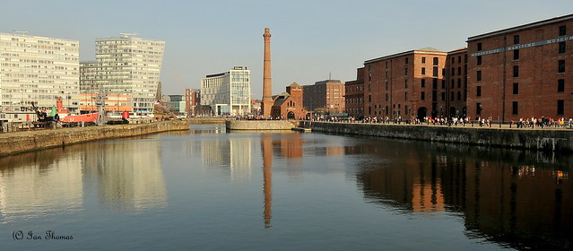 The Pumphouse Public House On The Albert Docks In Liverpool