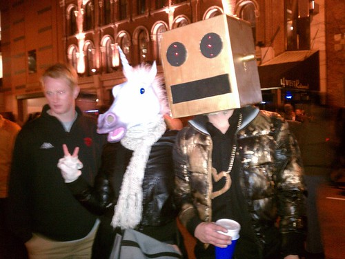 party rockin with the LMFAO robot | by antijamsect