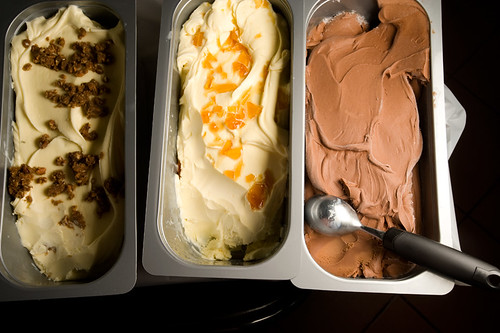 Donated gelato from Katrina & Dave over at La Divina Gelateria by Ryan Hodgson-Rigsbee