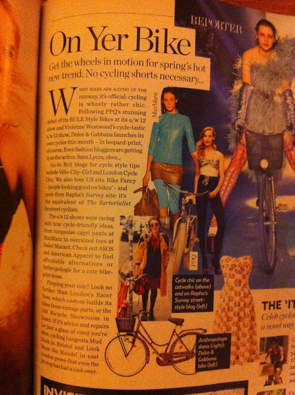 Cycle chic???