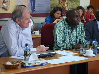 Carlos Seré (IFAD) and Baba Soumare (AU-IBAR) | by International Livestock Research Institute