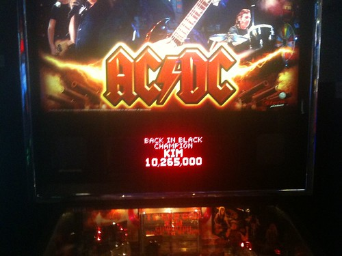 ACDC Pinball - Champion of  Back to Black.