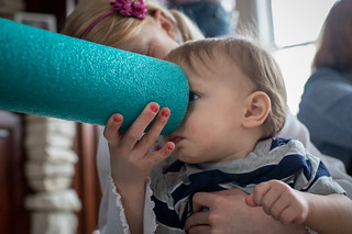 Esther & Ezra w/ Foam Noodle | by goingslowly