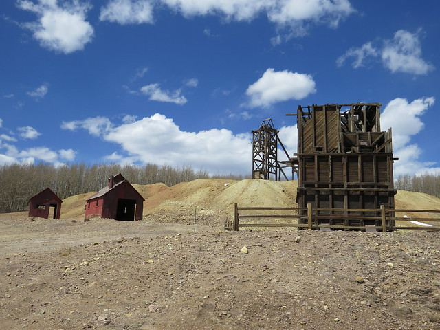 Beautiful Day at the Hoosier Mine