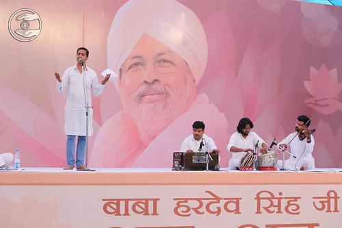 Devotional song by Ajay Bedjor from Trawari, Haryana