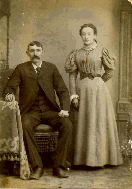 Myrtie Jane Hoobler 1878-1958, Married Amarillo John Ramsey in St. Marys, Kansas on April 13, 1896