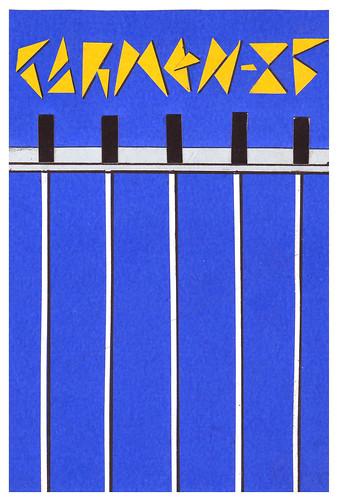 Cartel  1985 (boceto)