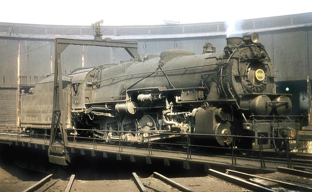 Pennsylvania Railroad 2-10-0 Decapod, I1 class, steam loco