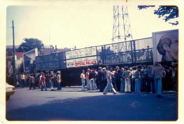 The Goldstone Ground, Brighton v Crystal Palace (1974)