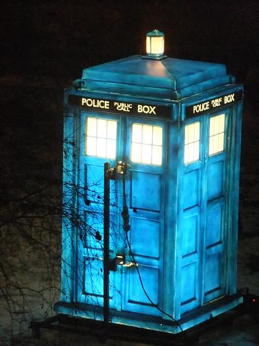 TARDIS (light on) | by ☺ Lee J Haywood