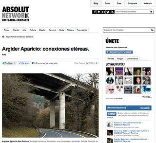 ABSOLUT NETWORK | by argideraparicio.es