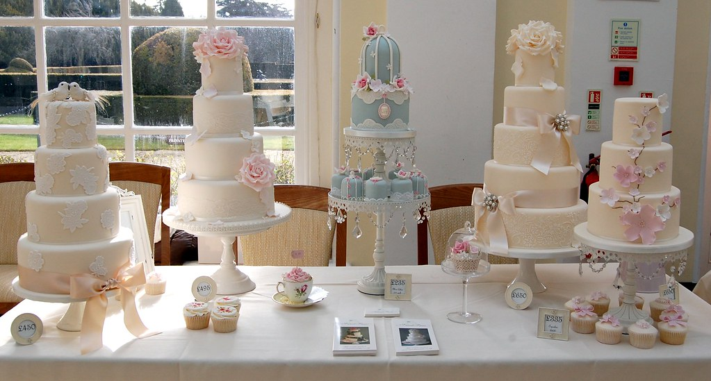 By Hester Gardner Cakes Part Of My Stand At Blenheim Palace Wedding Fayre