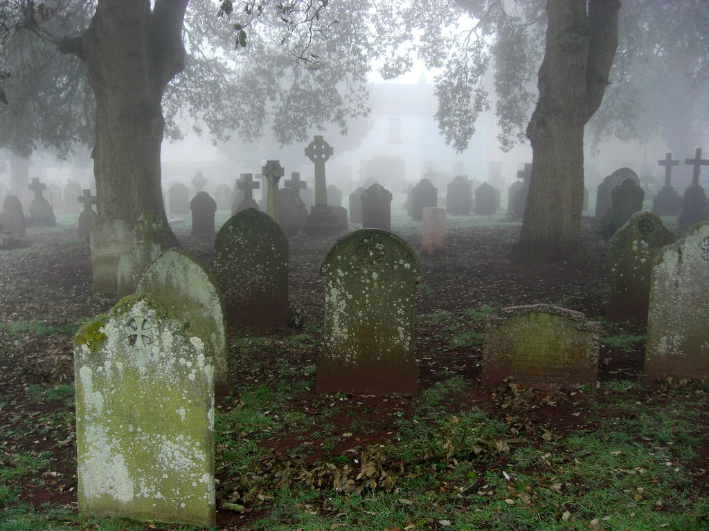 Misty Graveyard South Devon