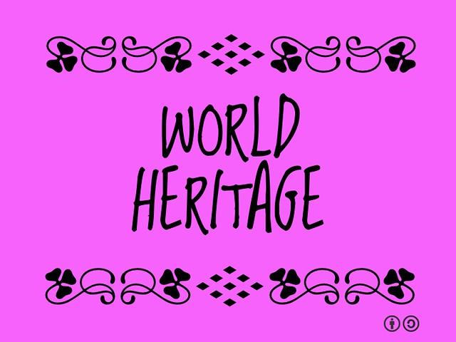 Buzzword Bingo: World Heritage