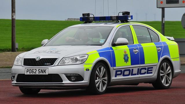 Merseyside Police Skoda Octavia VRS