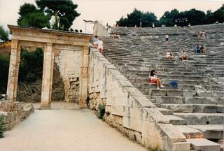 The Theatre at Epidaurus 2