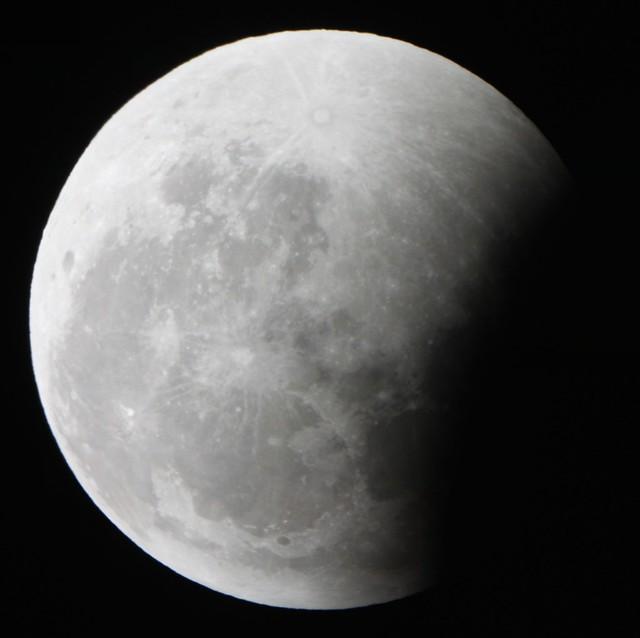 Lunar Eclipse (4:25 AM CT)