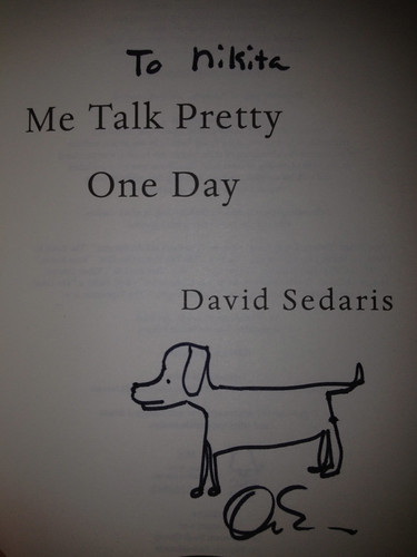 David Sedaris | by Nikita Kashner