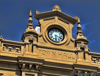 Glebe Town Hall c.1880 | by Balmain & Glebe Heritage