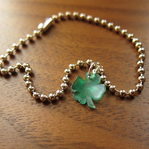 A Little Luck Charm Bracelet | by katbaro
