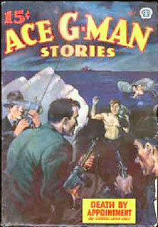 207a Ace G-Man Stories (Canada) Jul-1945 Includes In the Dark-Room by E. Hoffmann Price