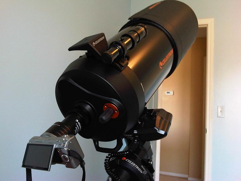NEX-5 mounted on C8-SGT