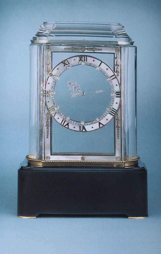 Cartier Art Deco Mystery Clock Reproduction Of This Image Flickr