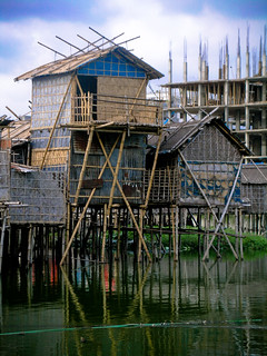 new type of Stilt houses, coping with climate change