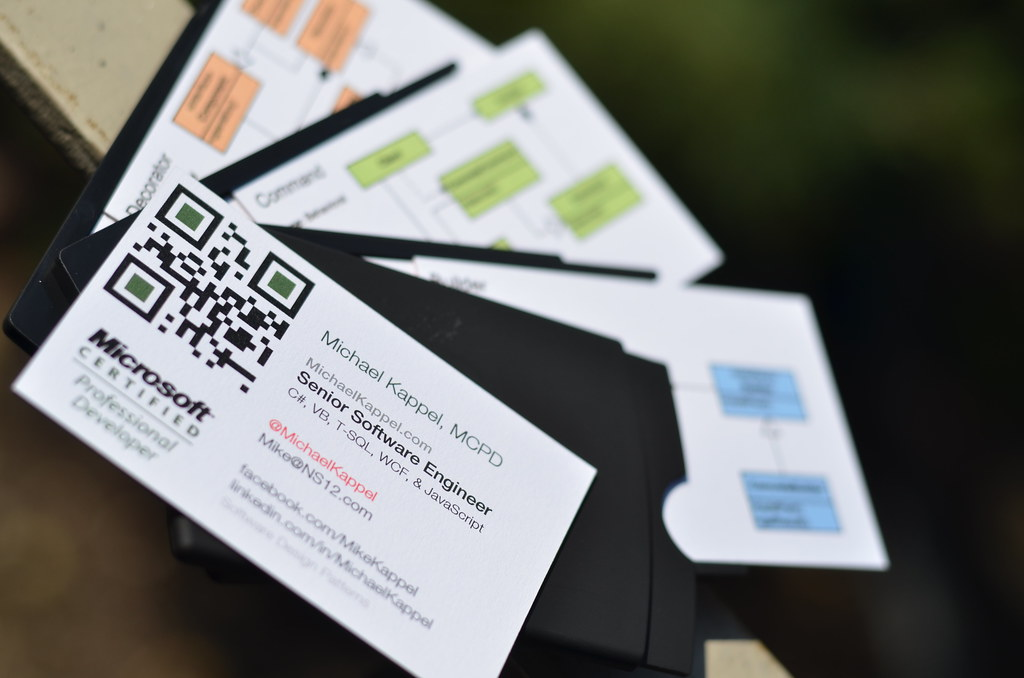 Software Architect Business Cards | Microsoft Certified ...