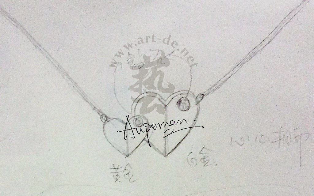 Jewelry Design Sketch Heart Pendant Jewelry Design Drawing Flickr
