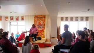 Sharon Salzberg guiding Loving Kindness meditation   by Olivier Riché
