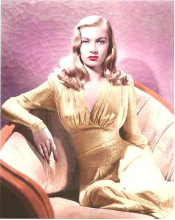 VERONICA LAKE, STAR OF THE SILVER SCREEN 1940S | by roberthuffstutter