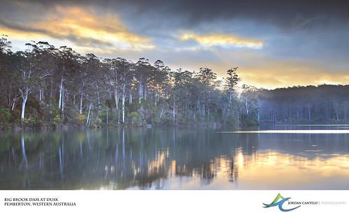 water photography big dam australia jordan western wa brook pemberton marron cantelo