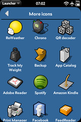More icons for webOS