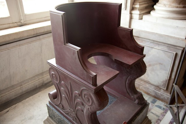 The Pope's Chair - you'll never guess what this was used for