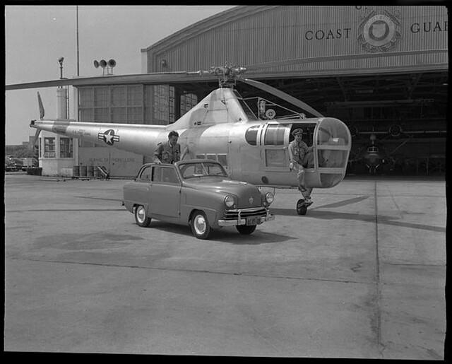Sikorsky (VS-317, S-51) HO3S-1G (USCG) by Rudy Arnold 1949