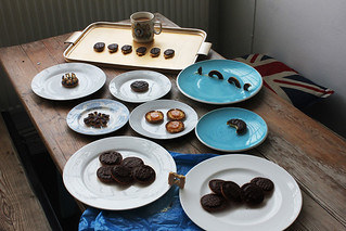 Jaffa Cakes nibbled | by Dominic Wilcox