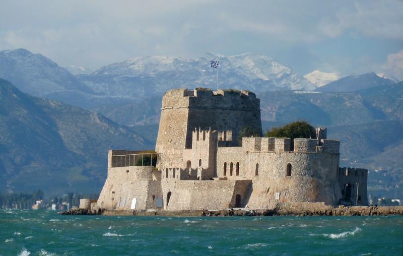 Bourtzi castle in Nafplio