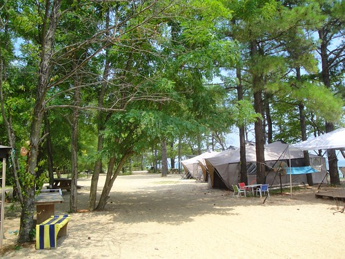 Far East Beach Campground, St. George's Island