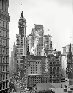 Singer Building Completed ca 1910 | by syscosteve