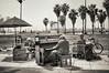 Piano player, Venice Beach