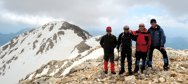 Ahmet, Mehmet, Cemalettin, Bryan -- summit of Tunç by bryandkeith on flickr