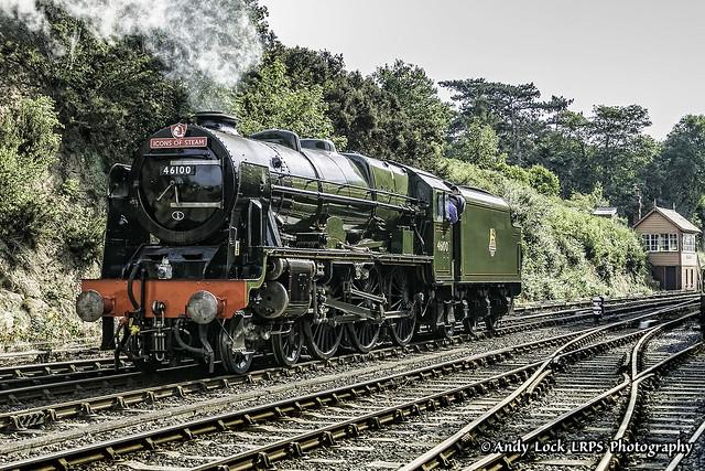 LMS Royal Scot Class: 46100