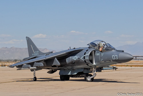 AV-8B Harrier II Plus - VMA-311 - BuNo 165588 | by Pasley Aviation Photography