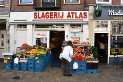 'Islamitische slagerij Atlas' Javastraat Amsterdam