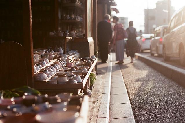 黃昏 陶瓷 清水寺 京都 Kyoto