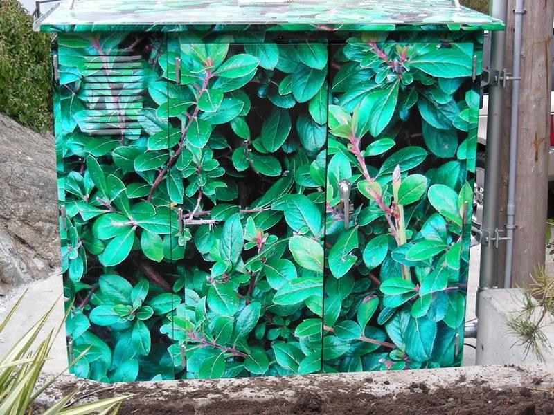 Constance Pump Station utility box wrap