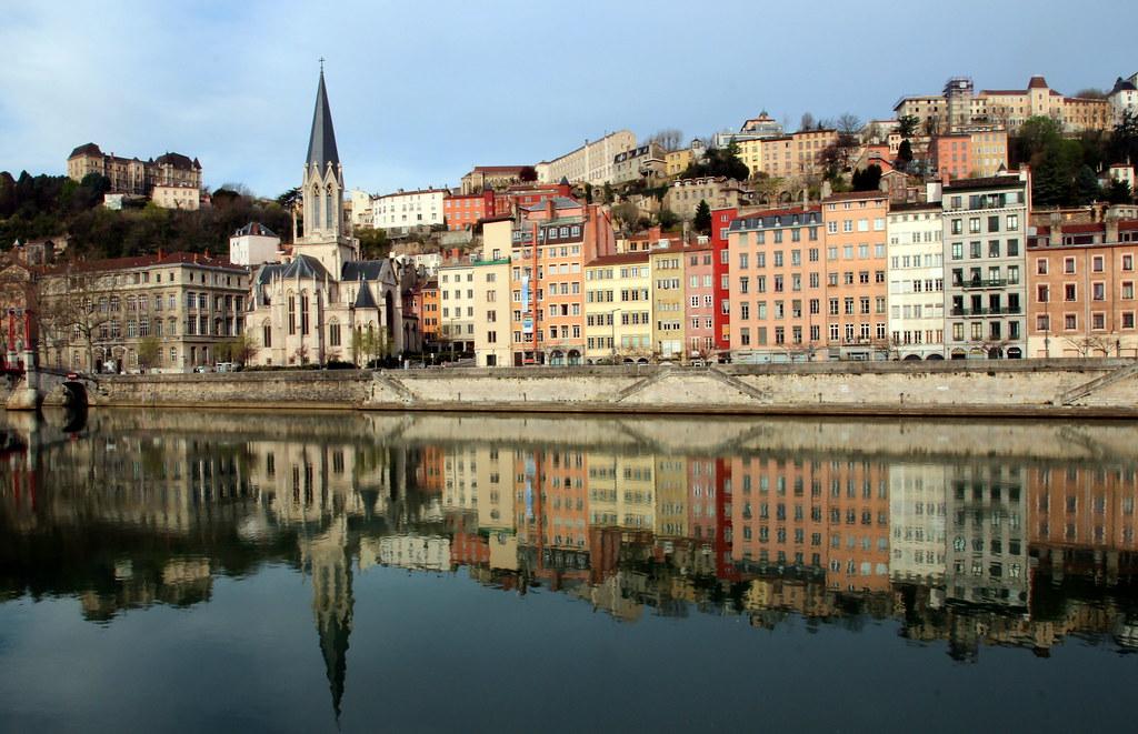 Banks of the river Saône