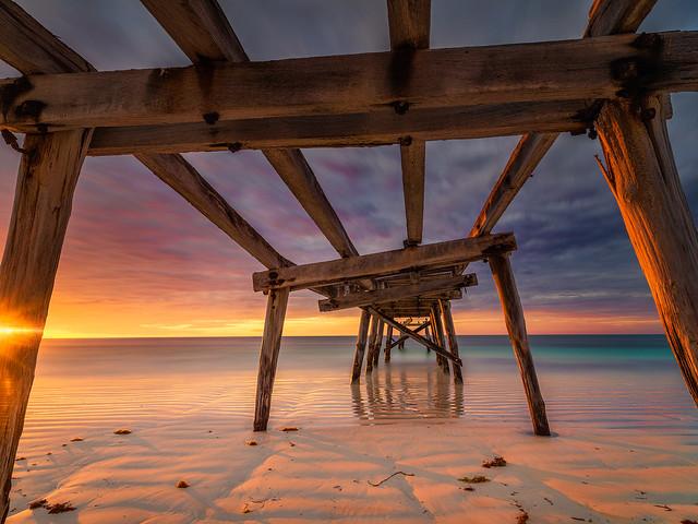 Eucla Old Pier Sunrise