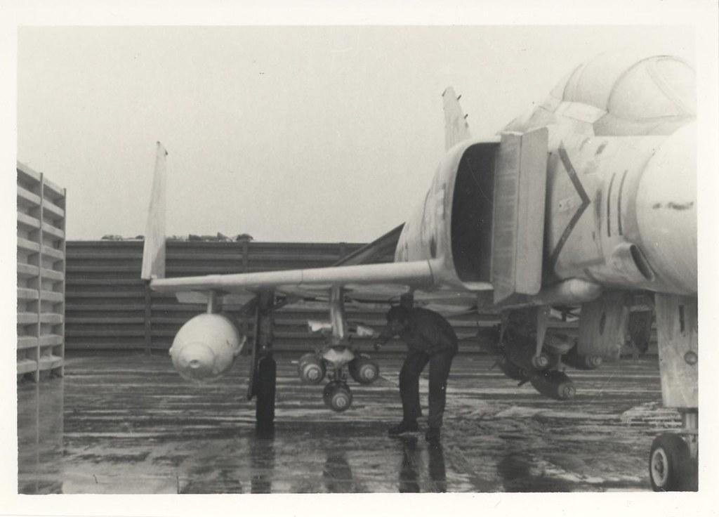 Ordnanceman Checkes Fuses, 22 January 1968